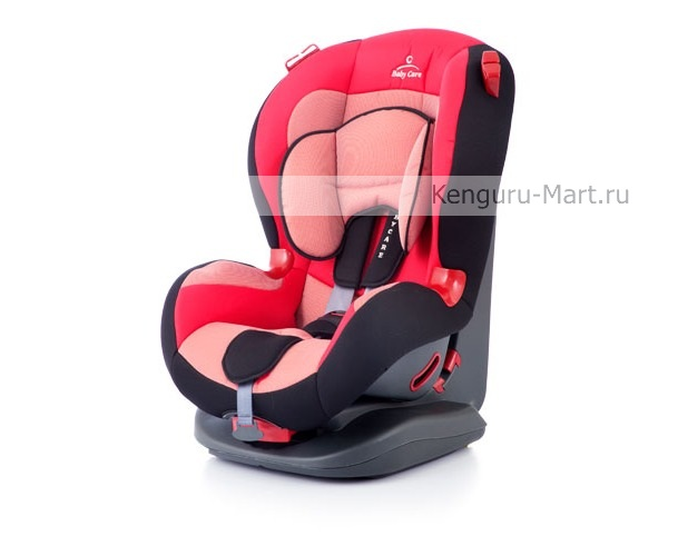 Автокресло Baby Care ESO Basic Premium (9-25 кг) Red
