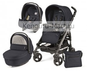 Коляска 3 в 1 Peg-Perego Switch Four Sportivo + Set Modular