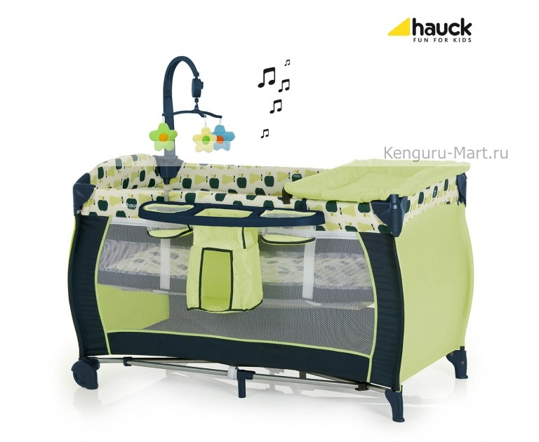 Манеж Hauck Babycenter Fruit 60748